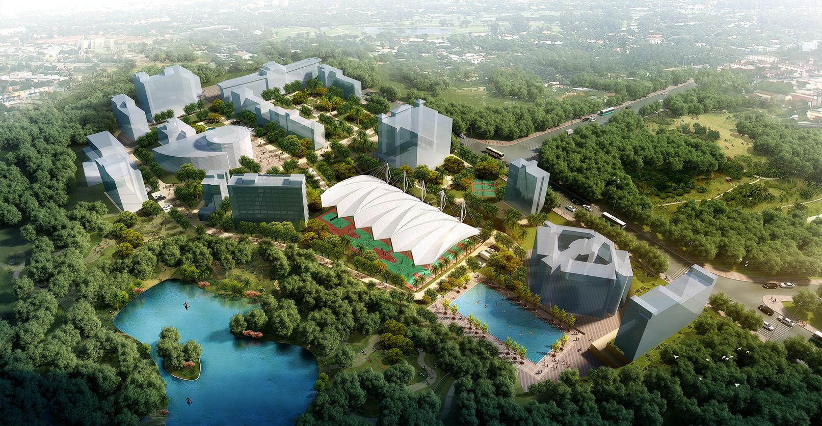 湛江一中风雨球场项目